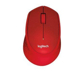 Мышь Logitech M330 красный (910-004911)
