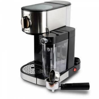 Кофеварка эспрессо Polaris PCM 1519AE серебристый/черный