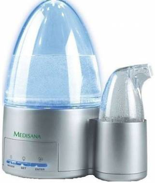 Увлажнитель воздуха Medisana Medibreeze серебристый (60003)