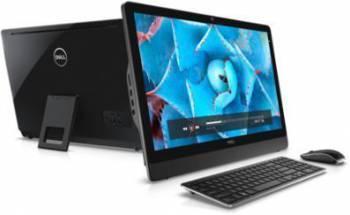 Моноблок Dell Inspiron 3464 черный, диагональ экрана 23.8, разрешение 1920x1080, процессор Intel Core i3 7100U 2.4ГГц, оперативная память 4Gb DDR4, жесткий диск 1Tb, видеокарта Intel HD Graphics 620, DVDRW, Windows 10 Professional 64-bit Single Language,