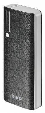 Мобильный аккумулятор Buro RC-10000 Li-Ion 10000mAh черный