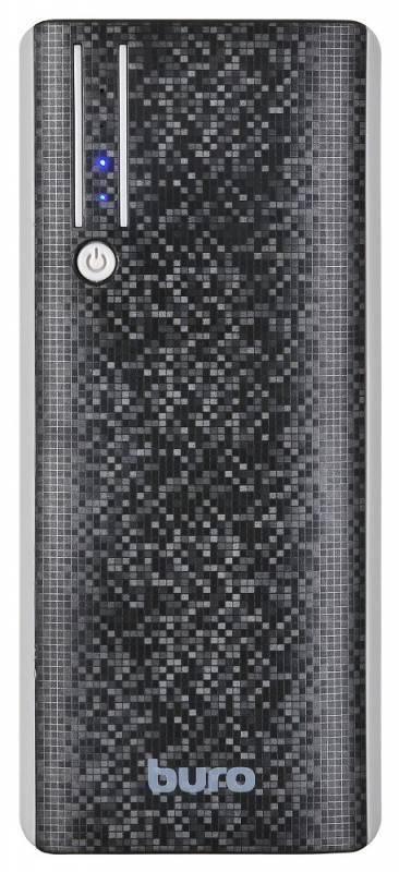 Мобильный аккумулятор BURO RC-10000 черный - фото 2