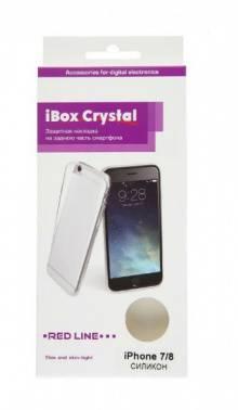 Чехол Redline iBox Crystal, для Apple iPhone 7, прозрачный (УТ000009475)