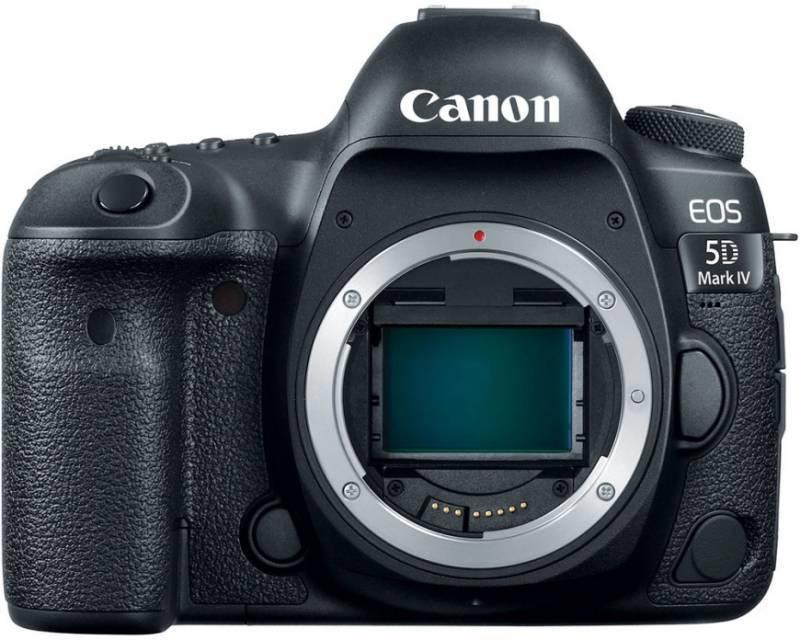 Фотоаппарат Canon EOS 5D Mark IV черный, Body (1483C025) - фото 1