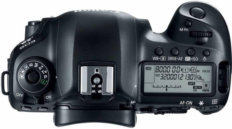 Фотоаппарат Canon EOS 5D Mark IV черный, Body (1483C025) - фото 2