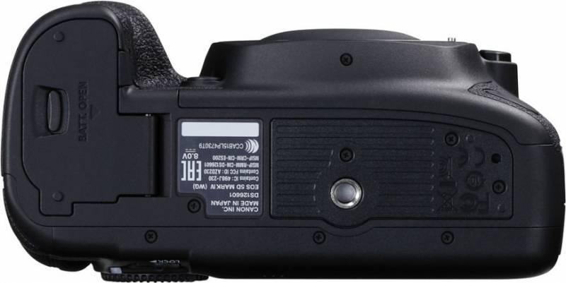 Фотоаппарат Canon EOS 5D Mark IV черный, Body (1483C025) - фото 5