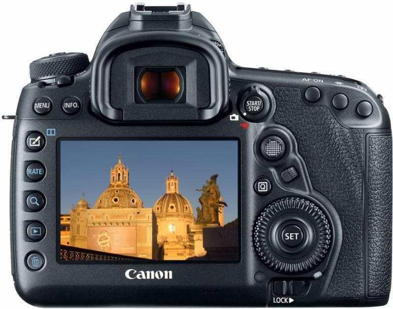 Фотоаппарат Canon EOS 5D Mark IV черный, Body (1483C025) - фото 6