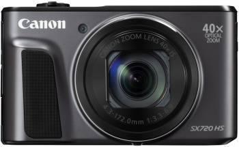 Фотоаппарат Canon PowerShot SX720HS черный
