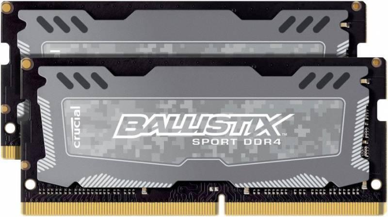 Модуль памяти SO-DIMM DDR4 2x4Gb Crucial BLS2C4G4S240FSD - фото 1