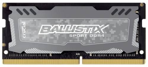 Модуль памяти SO-DIMM DDR4 16Gb Crucial (BLS16G4S240FSD) - фото 1