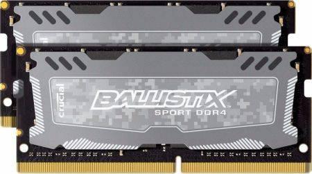 Модуль памяти SO-DIMM DDR4 2x8Gb Crucial (BLS2C8G4S240FSD) - фото 1