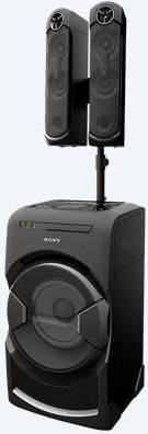 Минисистема Sony MHC-GT4D черный (MHCGT4D.RU1) - фото 2