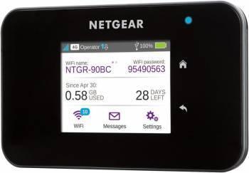 Точка доступа NetGear AC810-100EUS черный