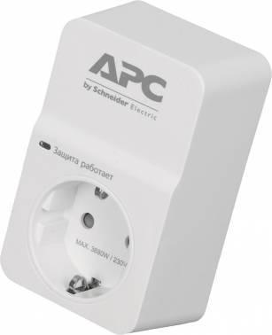 Сетевой фильтр APC PM1W-RS белый