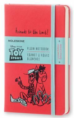 Блокнот Moleskine Limited Edition TOY STORY POCKET 90x140мм 192стр. нелинованный красный