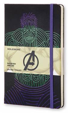 Блокнот Moleskine Limited Edition THE AVENGERS (Мстители) LARGE 130х210мм 240стр. линейка Hulk