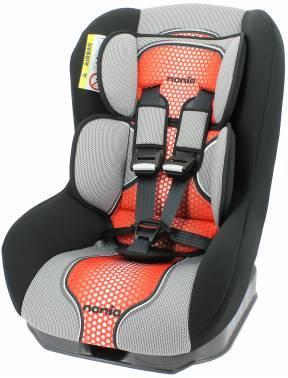 Автокресло детское Nania Driver FST (pop red) серый / красный