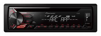 Автомагнитола Pioneer DEH-1900UB, типоразмер 1DIN, максимальная мощность 4x50Вт, поддержка CD, фронтальный USB-порт, монохромный дисплей