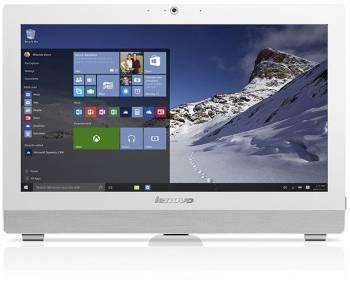 Моноблок Lenovo S200z 19.5 1600x900 P J3710/4Gb/500Gb 7.2k HDG405/DVDRW/CR/Windows 10 64-bit/GbitEth/WiFi/BT/клавиатура/мышь/Cam/белый