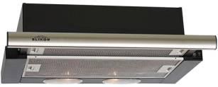 Встраиваемая вытяжка Elikor Интегра 50П-400-В2Л черный/нержавеющая сталь (КВ II М-400-50-250)