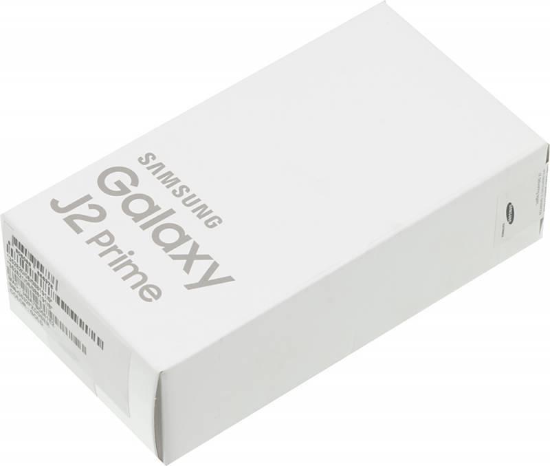 Смартфон Samsung Galaxy J2 Prime SM-G532F 8ГБ золотистый - фото 8
