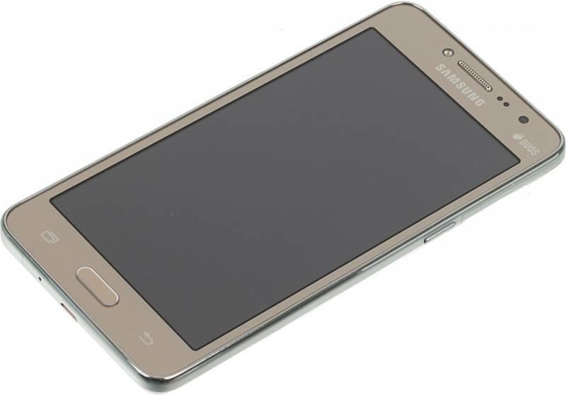Смартфон Samsung Galaxy J2 Prime SM-G532F 8ГБ золотистый - фото 3