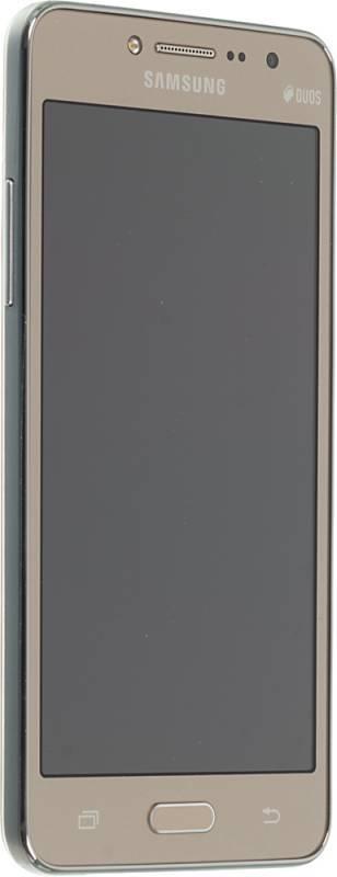 Смартфон Samsung Galaxy J2 Prime SM-G532F 8ГБ золотистый - фото 4