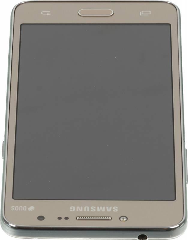 Смартфон Samsung Galaxy J2 Prime SM-G532F 8ГБ золотистый - фото 5