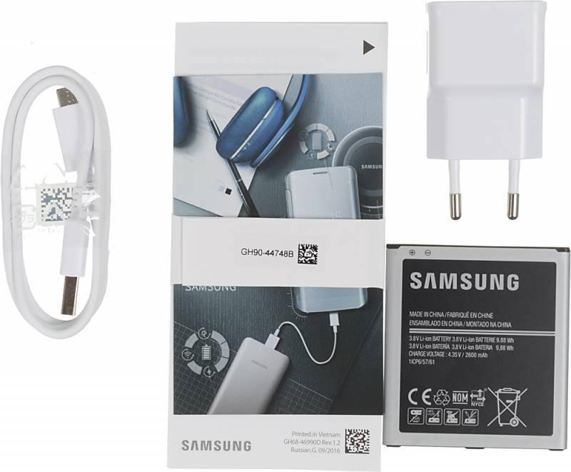 Смартфон Samsung Galaxy J2 Prime SM-G532F 8ГБ черный (SM-G532FZKDSER) - фото 12