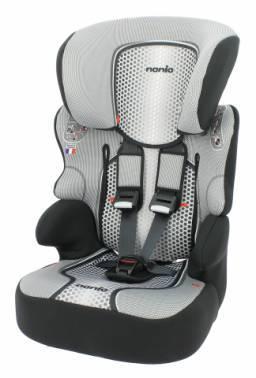Автокресло детское Nania Beline SP FST (pop black) серый / черный