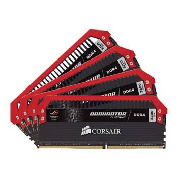 Модуль памяти DIMM DDR4 4x8Gb Corsair CMD32GX4M4C3200C16