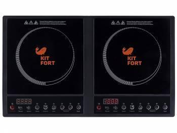 Плита Электрическая Kitfort КТ-109 черный