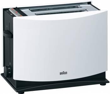 Тостер Braun HT400 WH белый (0X81260904)