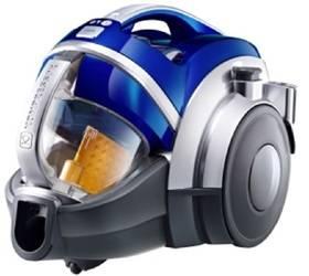 Пылесос LG VK89601HQ синий / серебристый