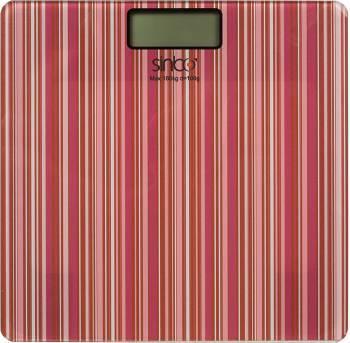 Весы напольные электронные Sinbo SBS 4438 красный