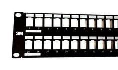 Патч-панель наборная 3M 7100053851 19 2U 48xRJ45
