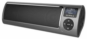 Магнитола Supra PAS-6280 серый