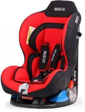 Автокресло детское Sparco F5000K RD красный / черный