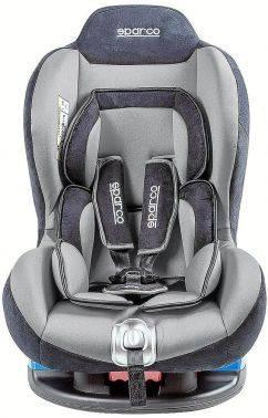 Автокресло детское Sparco F5000K GY серый / черный