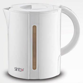 Чайник электрический Sinbo SK 7360 белый, объём 1.7л, мощность 2000Вт, материал корпуса: пластик