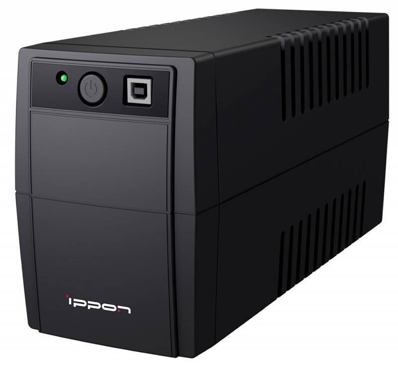 ИБП Ippon Back Basic 850 Euro черный - фото 2