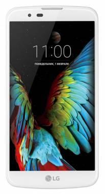 Смартфон LG K10 LTE K430ds 16ГБ белый