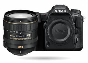 Фотоаппарат Nikon D500 черный, 1 объектив 16-80mm f / 2.8-4E ED VR