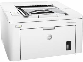 Принтер HP LaserJet Pro M203dw белый