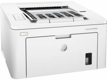 Принтер HP LaserJet Pro M203dn белый