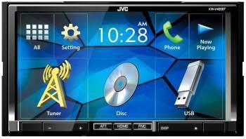 Автомагнитола JVC KW-V420BT