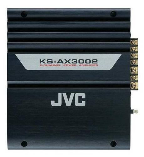 Автомобильный усилитель JVC KS-DR3002 - фото 1