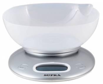 Кухонные весы Supra BSS-4022 белый (10897)
