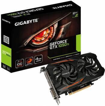 Видеокарта Gigabyte GeForce GTX 1050TI OC 4G 4096 МБ