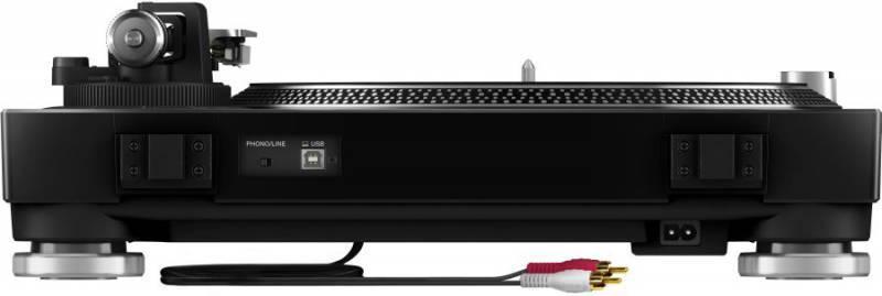 Виниловый проигрыватель Pioneer PLX-500-K черный - фото 4